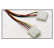 Adapter/Cable Y Power Cable/Power Splitter 2x3.5""
