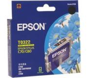PIEPST032 Epson T032290 Cyan Ink Cartridge For Epson Sty C80